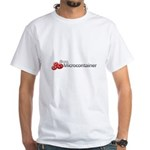 Microcontainer White T-Shirt
