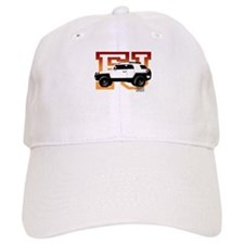 FJ Cruiser Red-Orange Baseball Cap