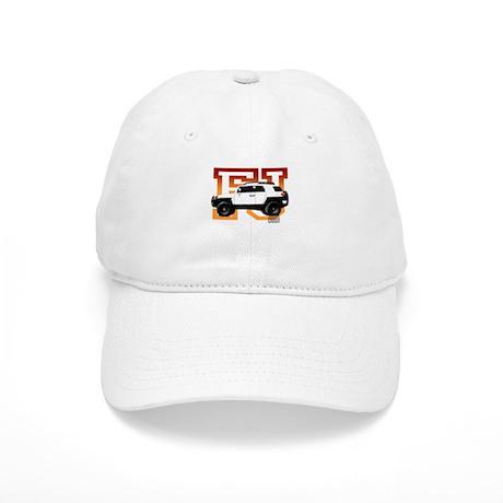 FJ Cruiser Red-Orange Cap