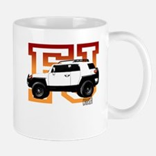 FJ Cruiser Red-Orange Mug
