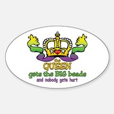 The Queen gets Oval Decal