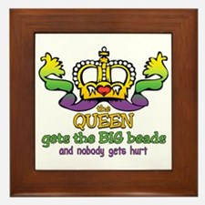 The Queen gets Framed Tile
