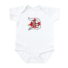 Canadian Flag D (Detroit) Infant Bodysuit