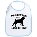 Protected by my Cane Corso Bib