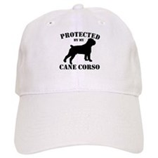 Protected by my Cane Corso Baseball Cap