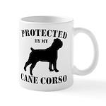 Protected by my Cane Corso Mug