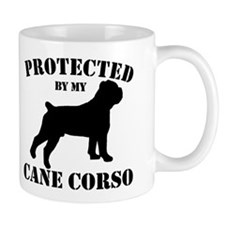 Protected by my Cane Corso Mug