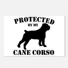 Protected by my Cane Corso Postcards (Package of 8