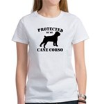 Protected by my Cane Corso Women's T-Shirt