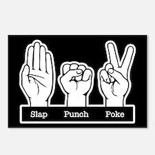 Slap Punch Poke Postcards (Package of 8)