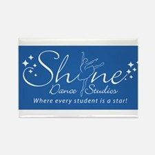 Shine Dance Studios Rectangle Magnet
