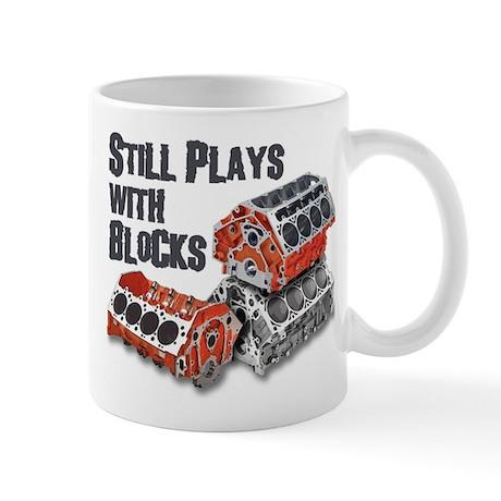 Still Plays With Blocks Mug