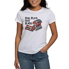 Still Plays With Blocks Tee
