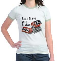 Still Plays With Blocks T