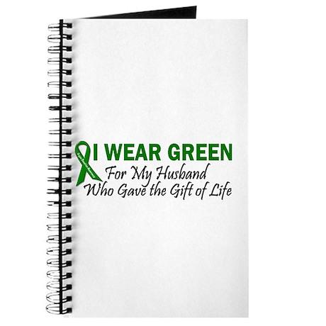 I Wear Green Husband Organ Donor Journal