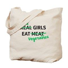 Good Girls Eat Vegetables Tote Bag