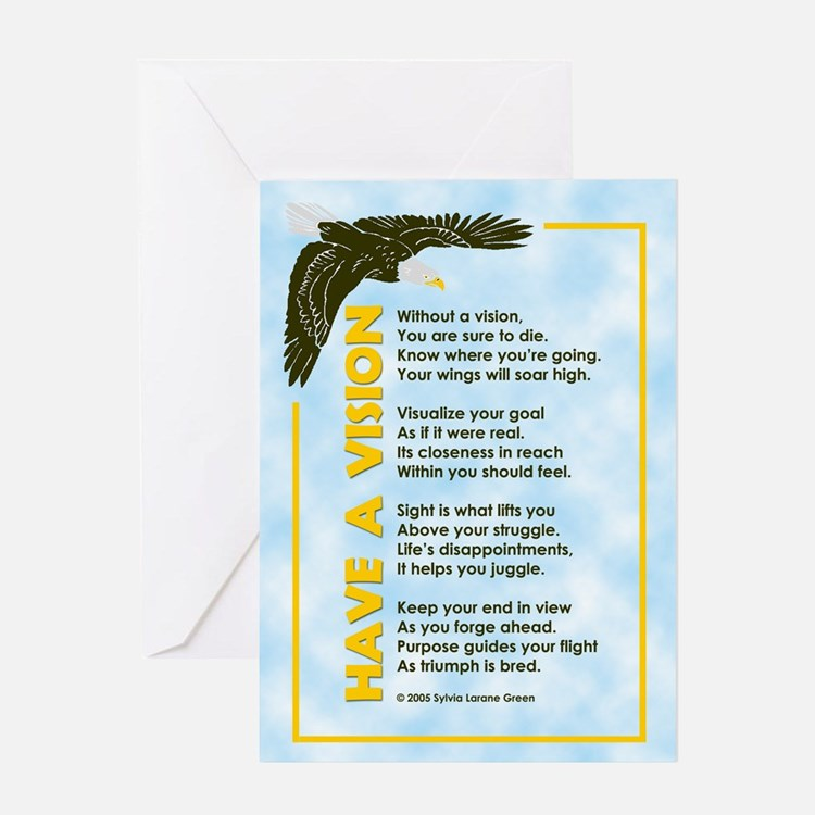 HAVE A VISION Greeting Card