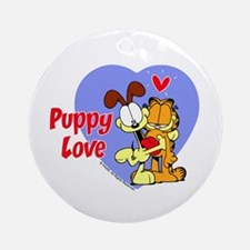 Puppy Love Ornament (Round)