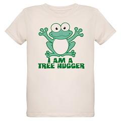 I'm A Tree Hugger Organic Kids T-Shirt