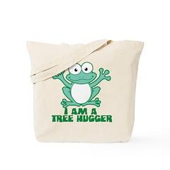 I'm A Tree Hugger Tote Bag