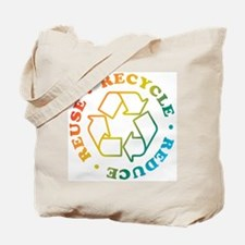 R3 Rainbow Circle Tote Bag