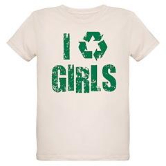 I Recycle Girls T-Shirt