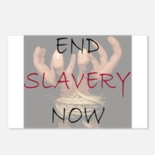 End slavery now Postcards (Package of 8)