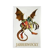 JABBERWOCKY Rectangle Magnet