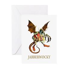 JABBERWOCKY Greeting Card
