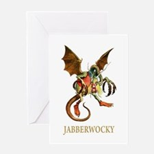 JABBERWOCKY Greeting Card