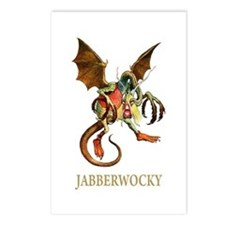JABBERWOCKY Postcards (Package of 8)