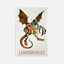 JABBERWOCKY Rectangle Magnet