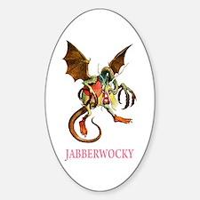 JABBERWOCKY Oval Decal
