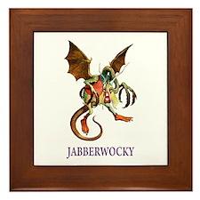 JABBERWOCKY Framed Tile