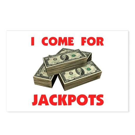 JACKPOT ! - Postcards (Package of 8)