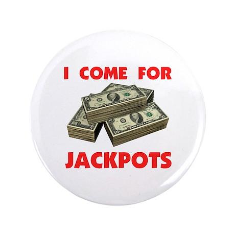 """JACKPOT ! - 3.5"""" Button (100 pack)"""