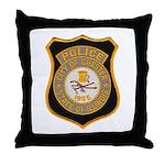 Chester Illinois Police Throw Pillow