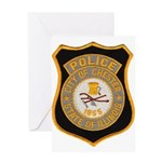Chester Illinois Police Greeting Card