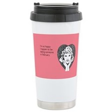 Happy Dating Stainless Steel Travel Mug