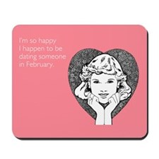 Happy Dating Mousepad