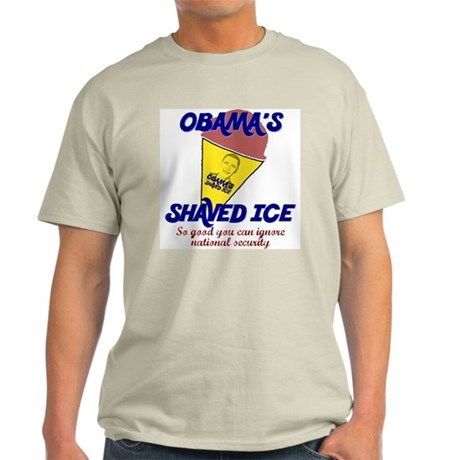 Obama's Shaved Ice Anti-Obama Light T-Shirt