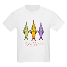 Key West 3 Fishes T-Shirt