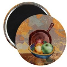 A Bowl of Apples Magnet
