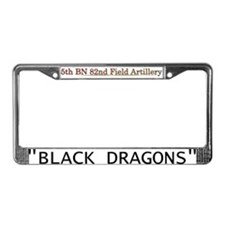 5TH 82ND FA License Plate Frame