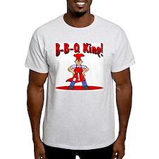 B-B-Q King Ash Grey T-Shirt