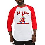 B-B-Q King Baseball Jersey