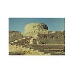 Mohenjodaro Stupa Rectangle Magnet (10 pack)