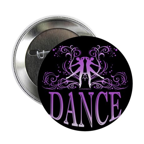 "DANCE (purple) 2.25"" Button (100 pack)"