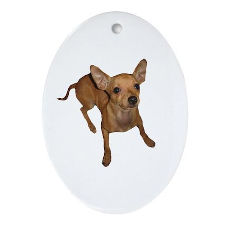 ChiChi Oval Ornament
