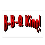 B-B-Q King Postcards (Package of 8)